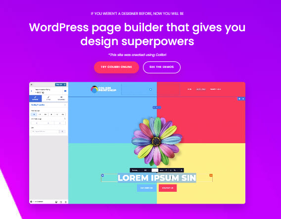 Colibri WordPress website builder